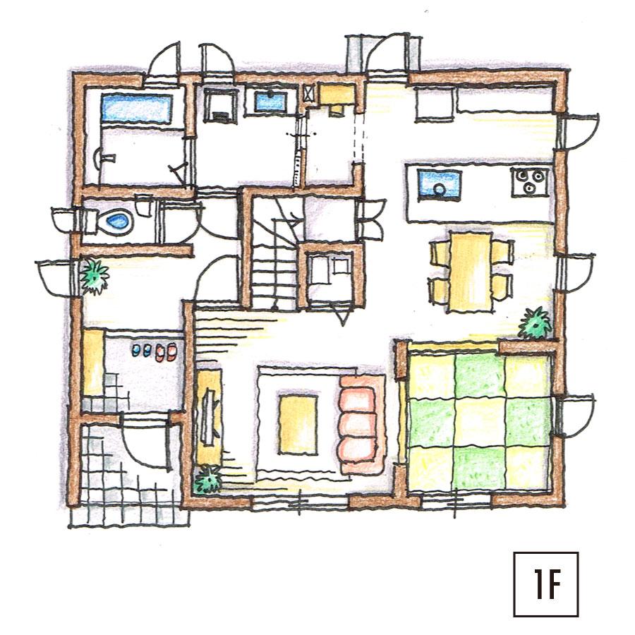 平面図1F