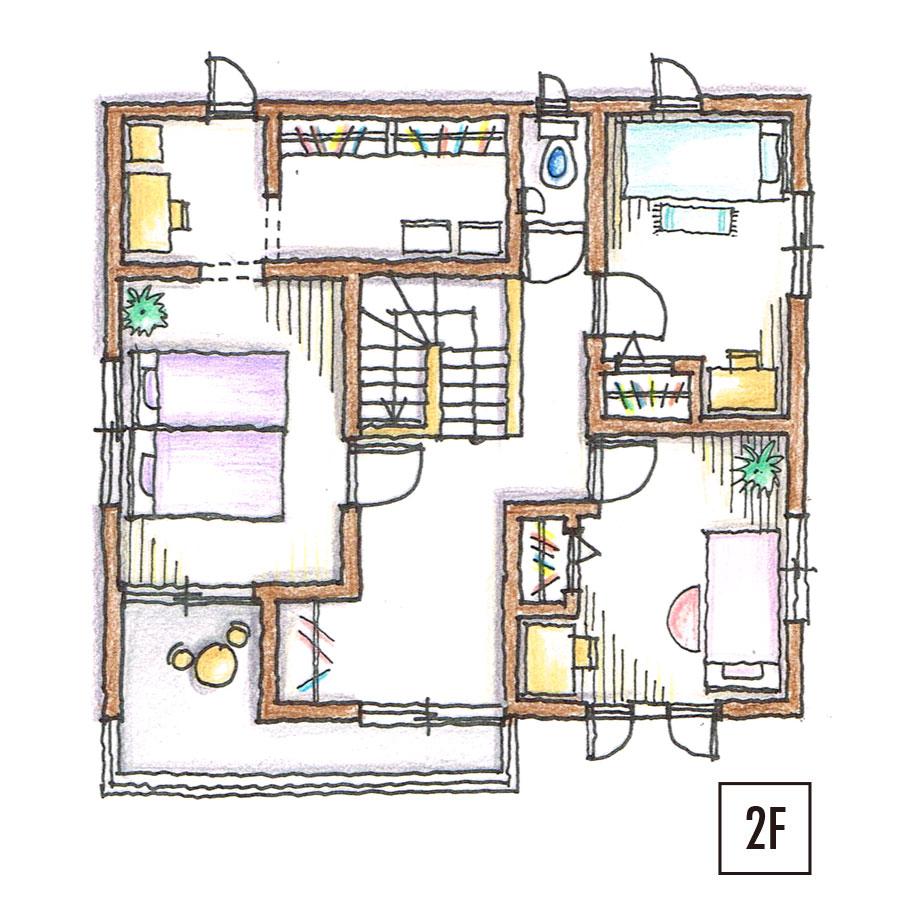 平面図2F