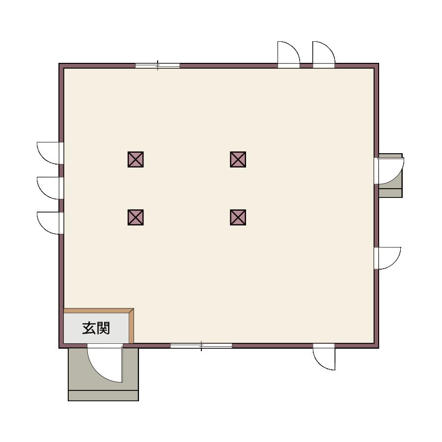ベース仕様 平面図