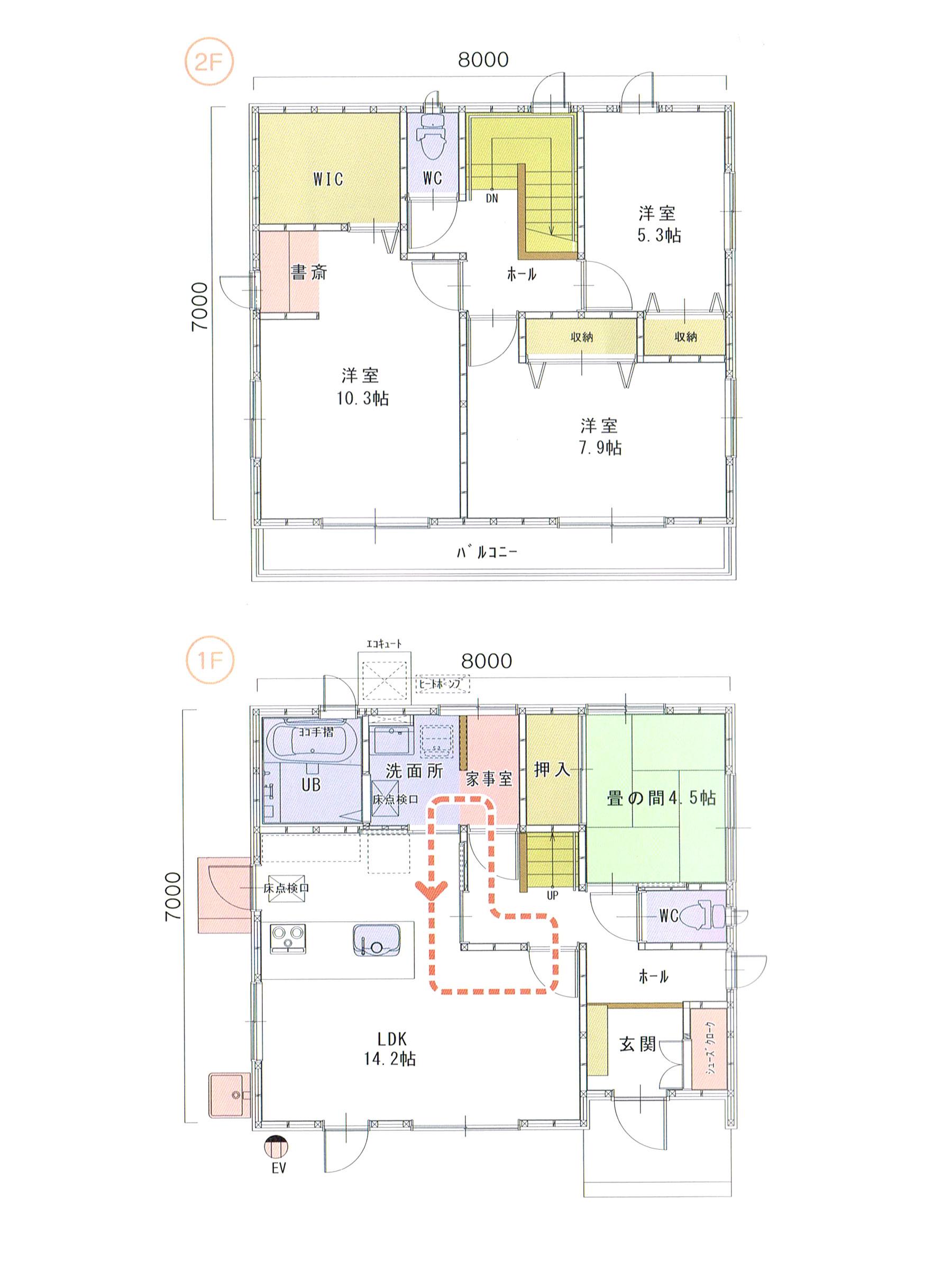 プランK-01 スモリの家