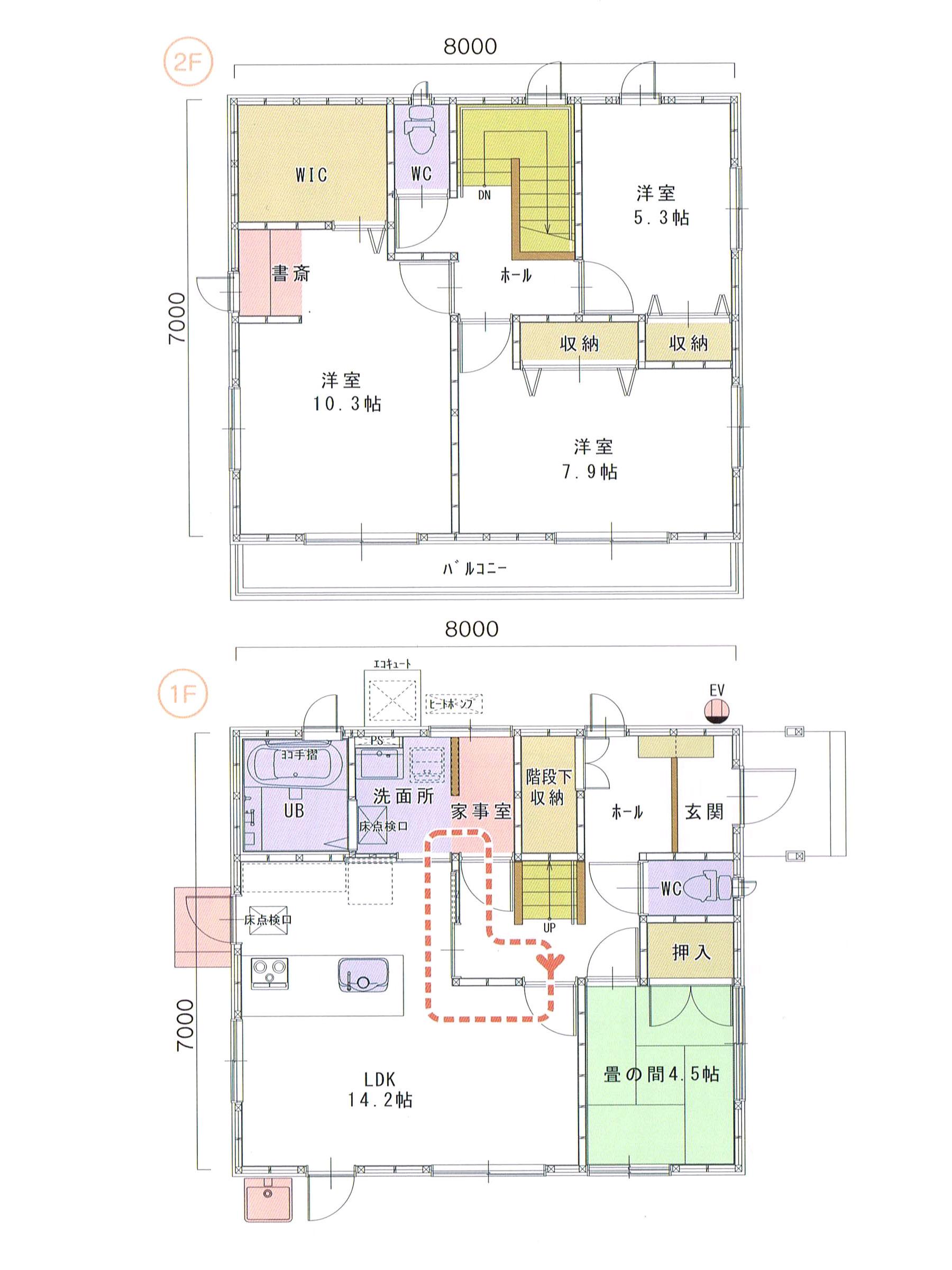 プランK-03 スモリの家