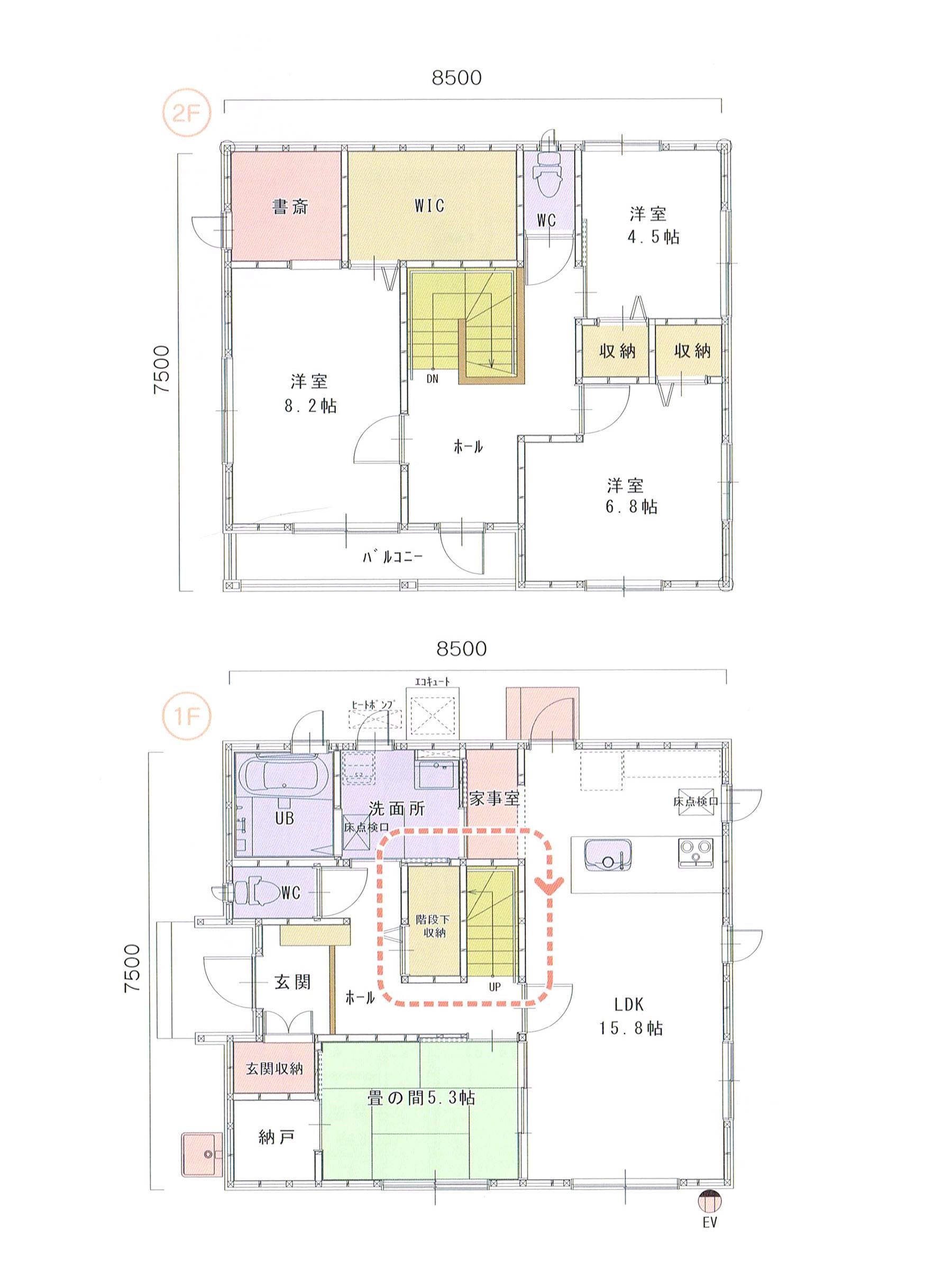 プランK-13 スモリの家