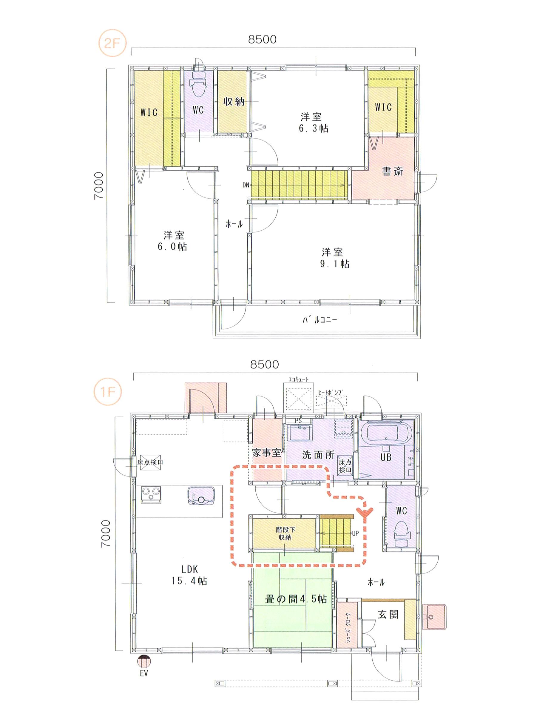 プランK-15 スモリの家