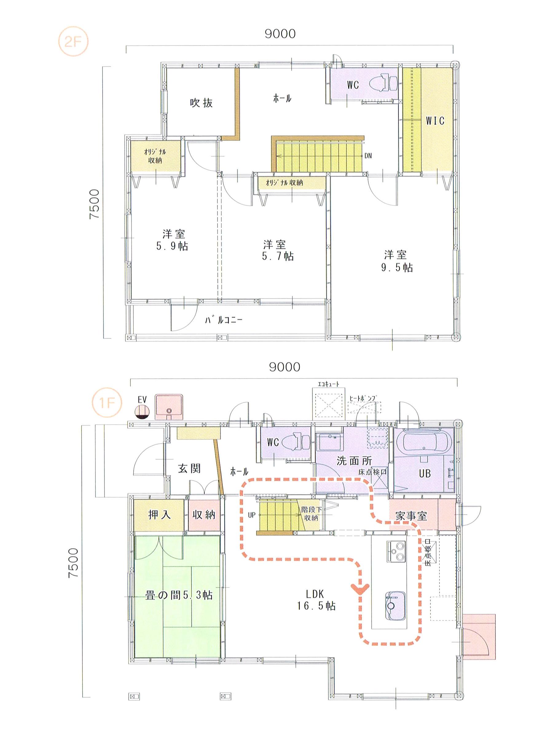 プランK-17 スモリの家