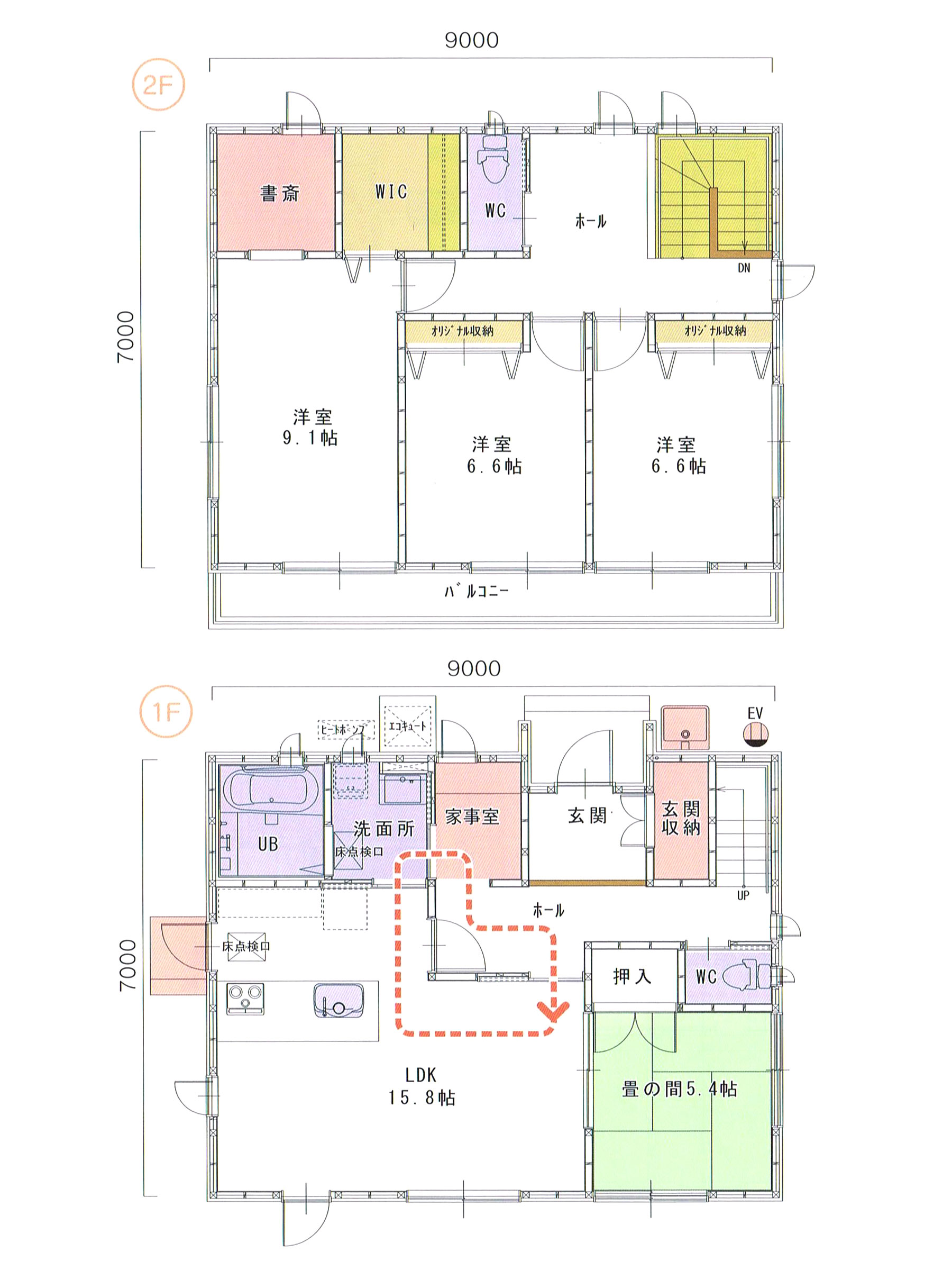 プランK-19 スモリの家
