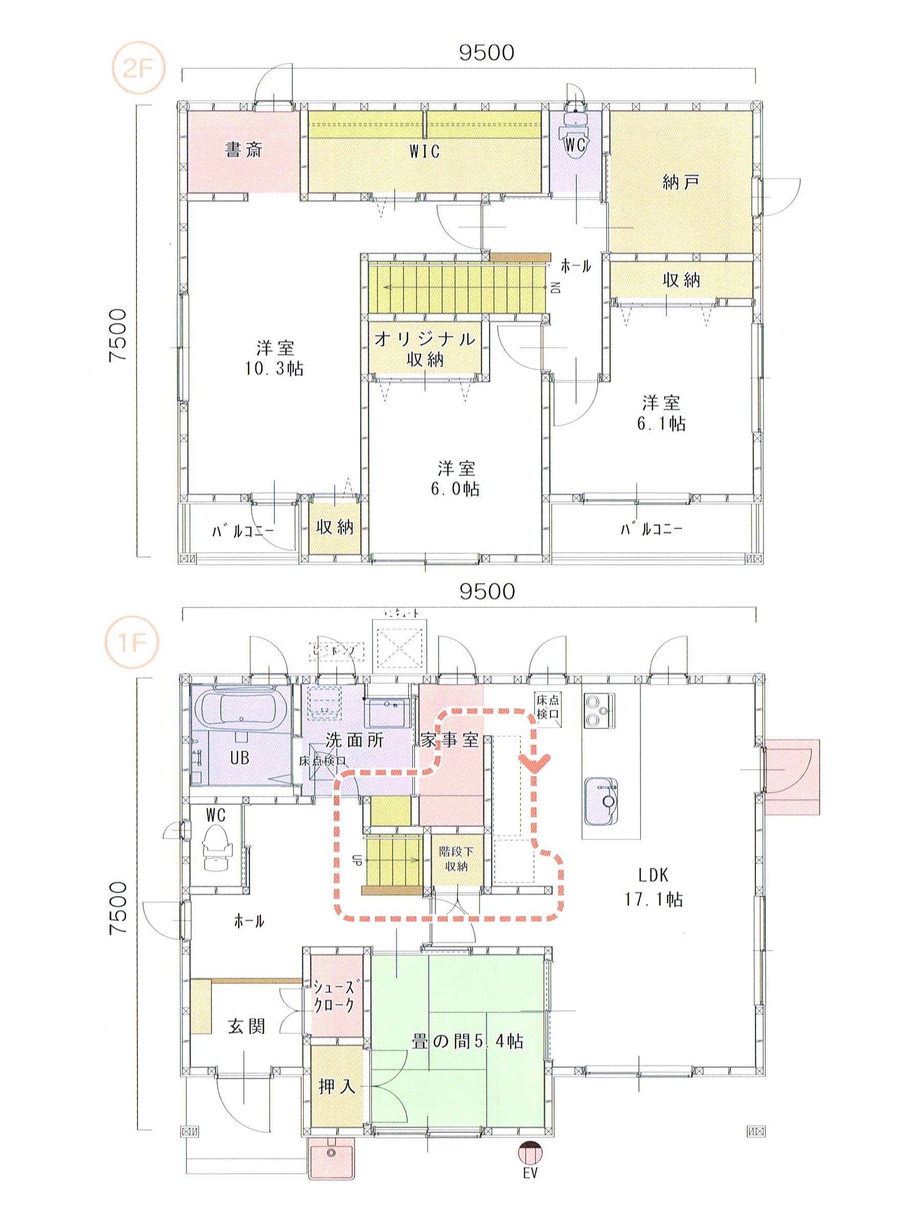 プランK-35 スモリの家