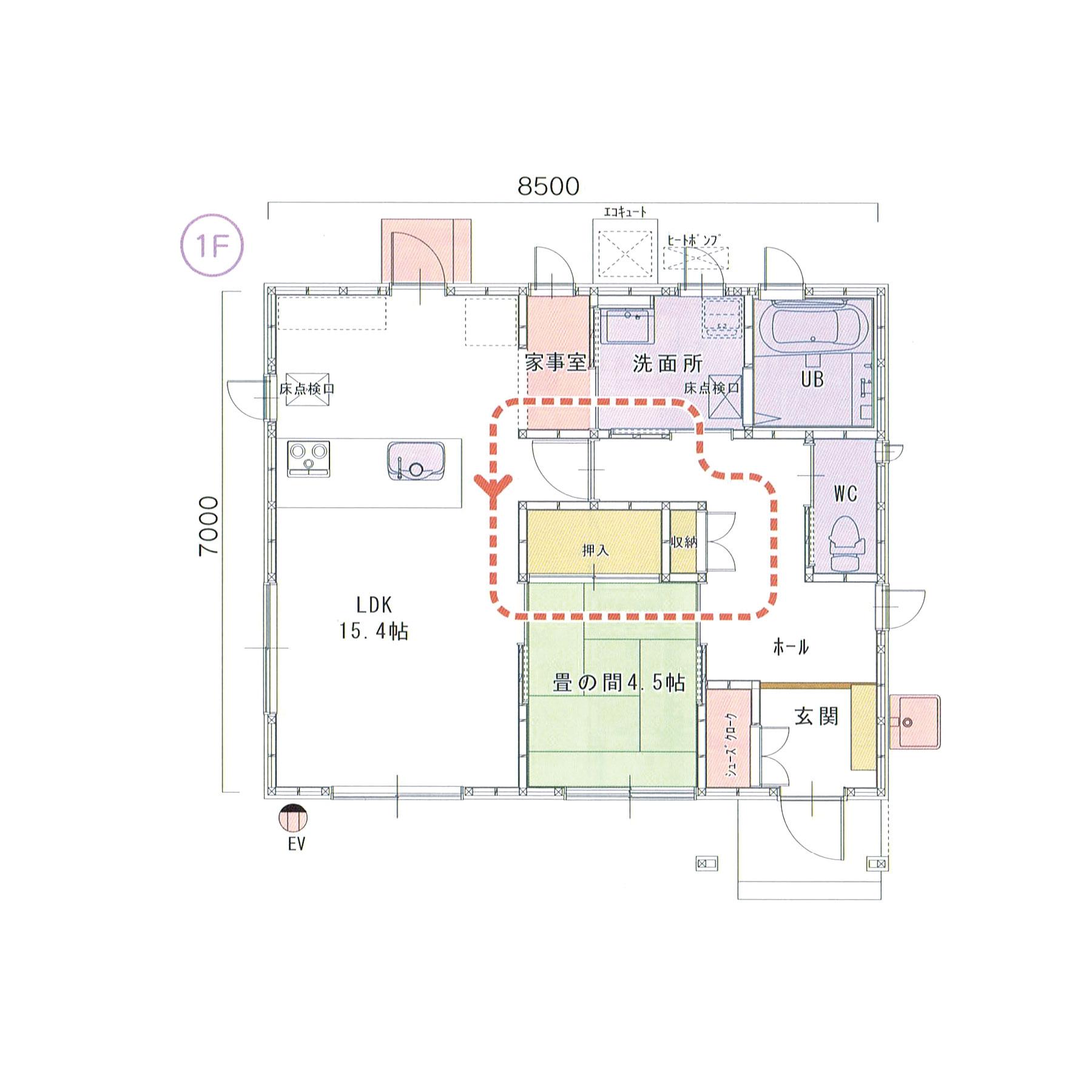 プランH-01 スモリの家