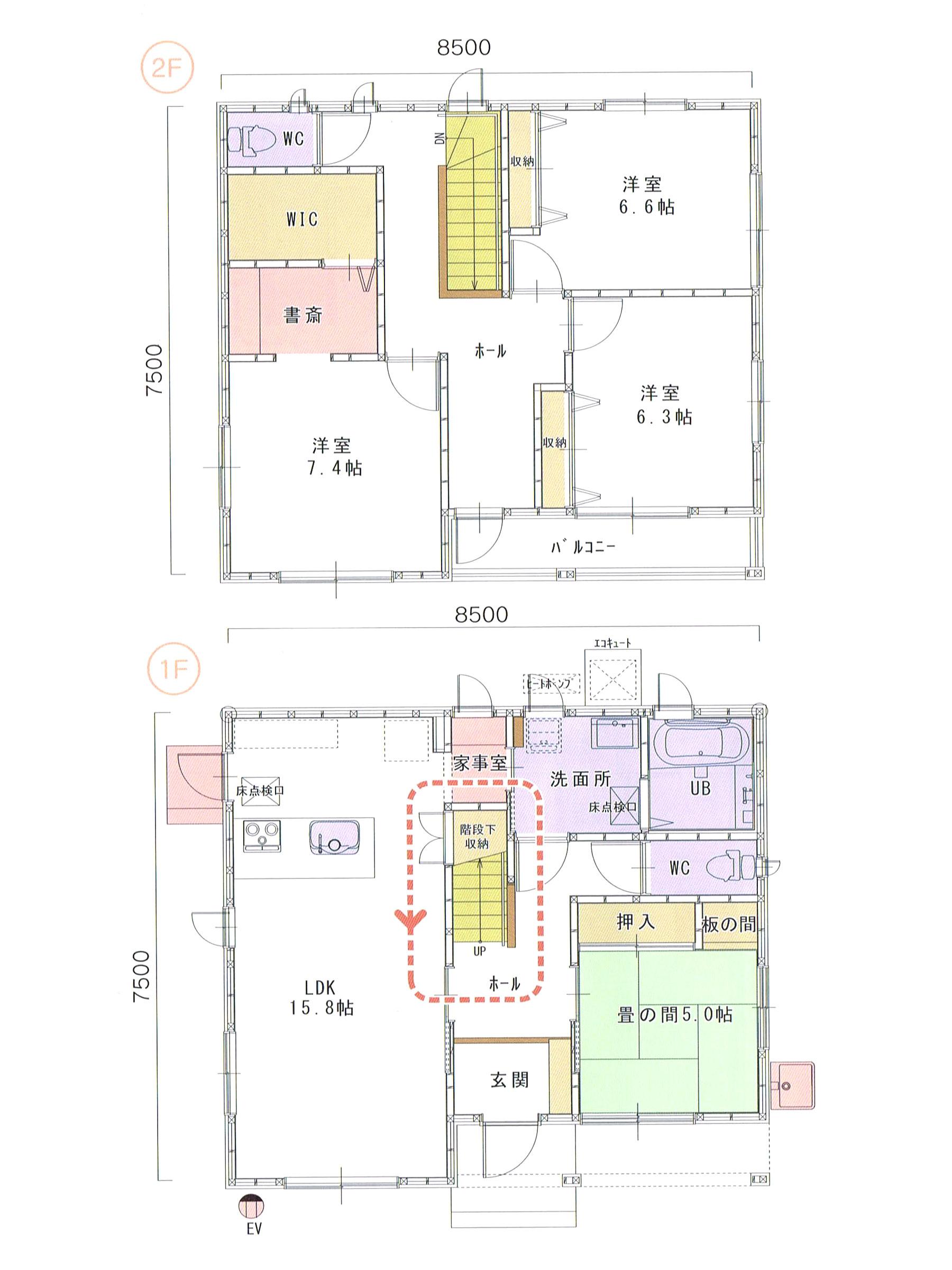 プランK-07 スモリの家