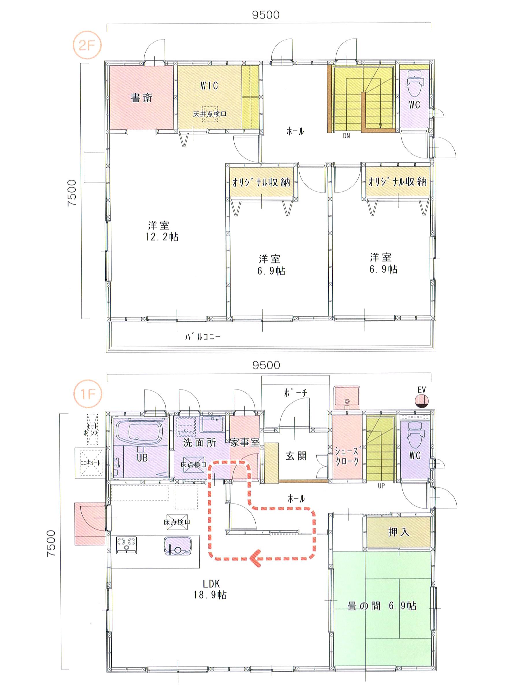 プランK-43 スモリの家