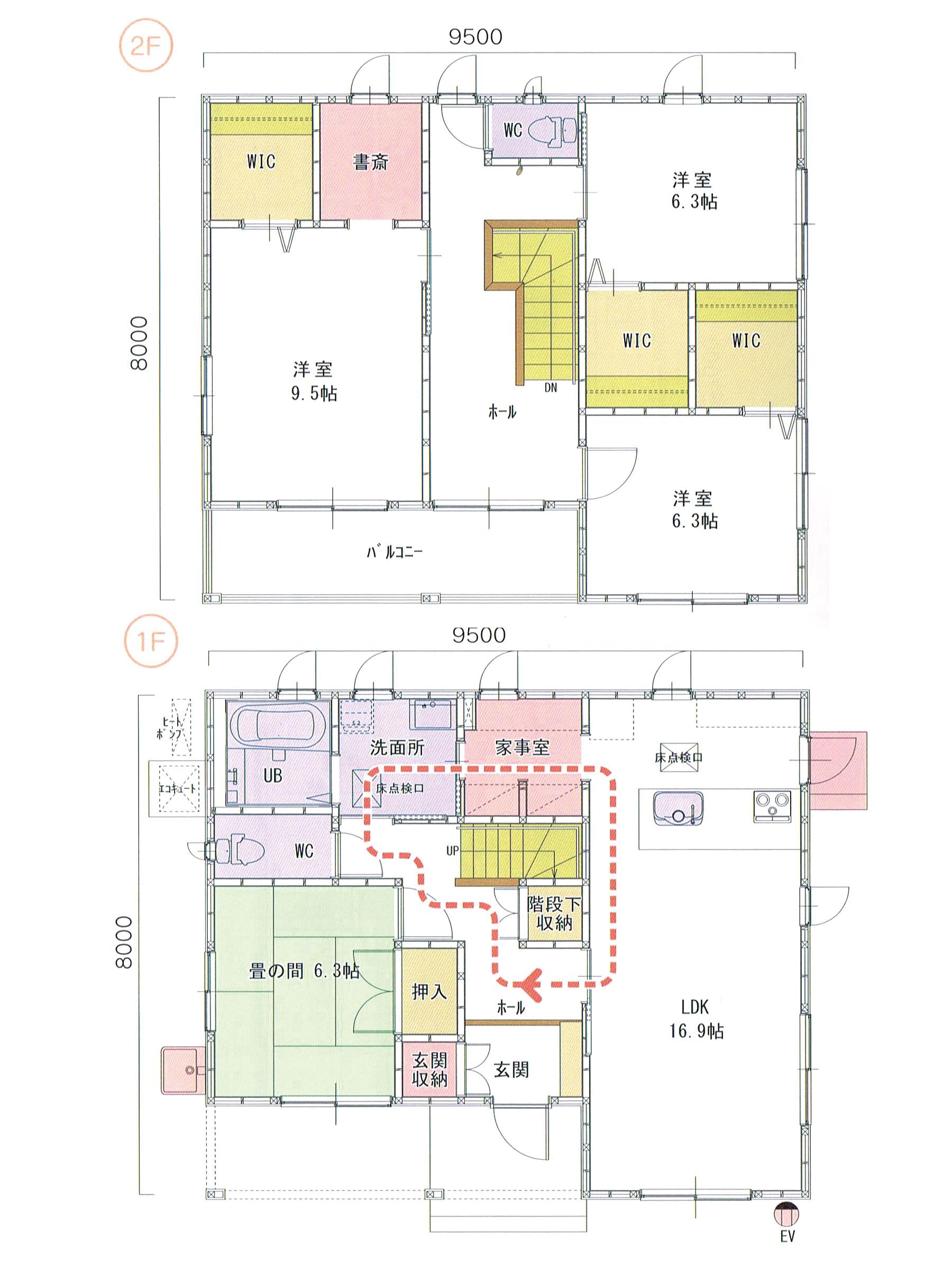 プランK-45 スモリの家