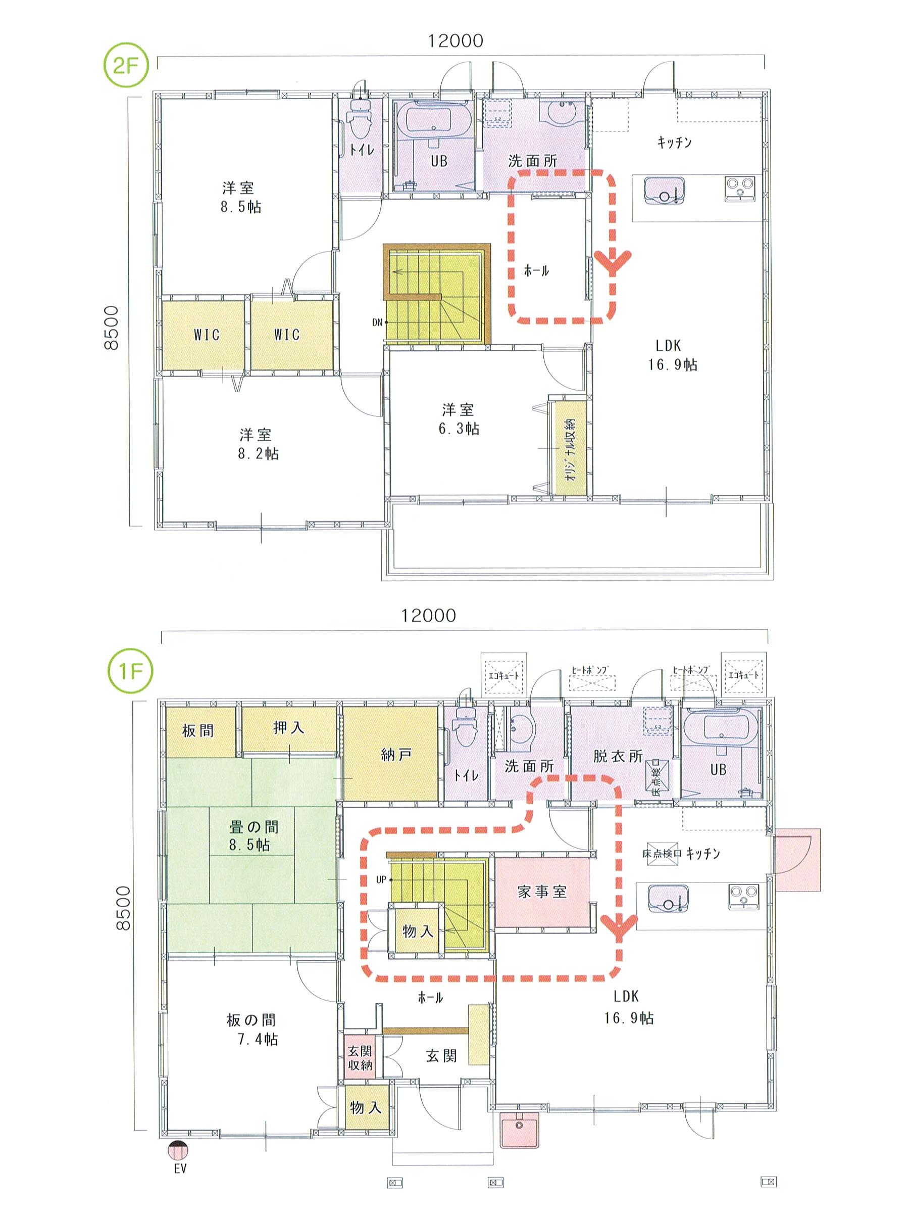 プランW-05 スモリの家